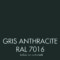 Gris Anthracite (RAL 7016)