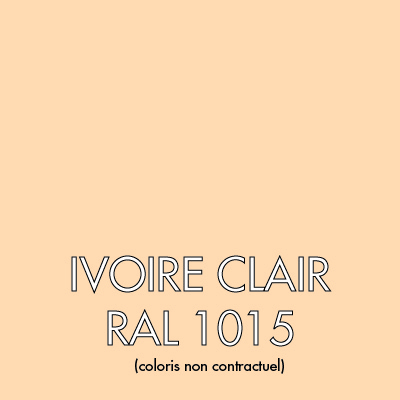 Ivoire Clair (RAL 1015)