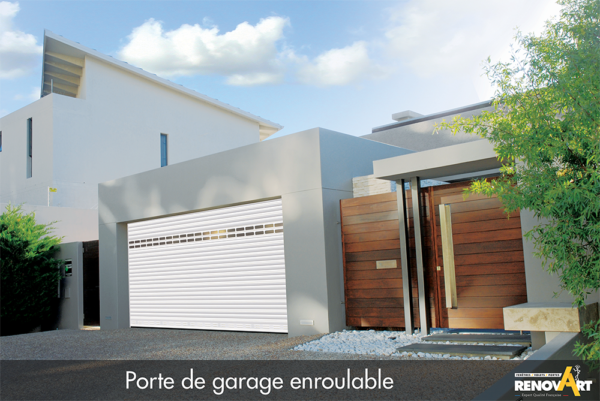 Porte de garage enroulable