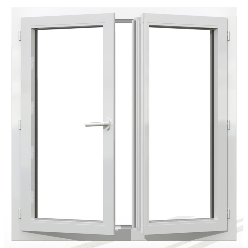 OF2 PVC blanc interieur 125x120