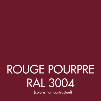 Rouge Pourpre (RAL 3004)